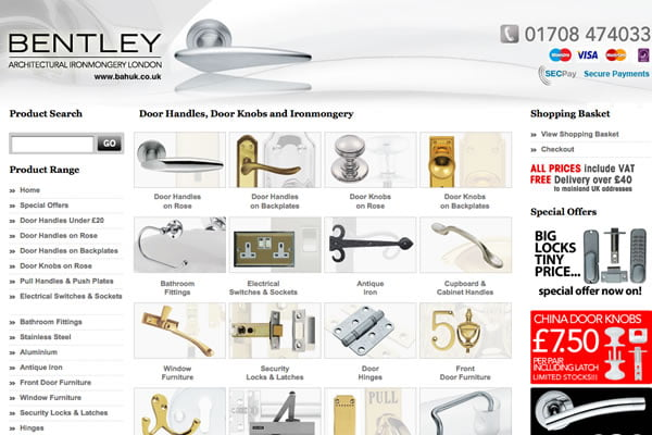Bentley Archtitectural Hardware